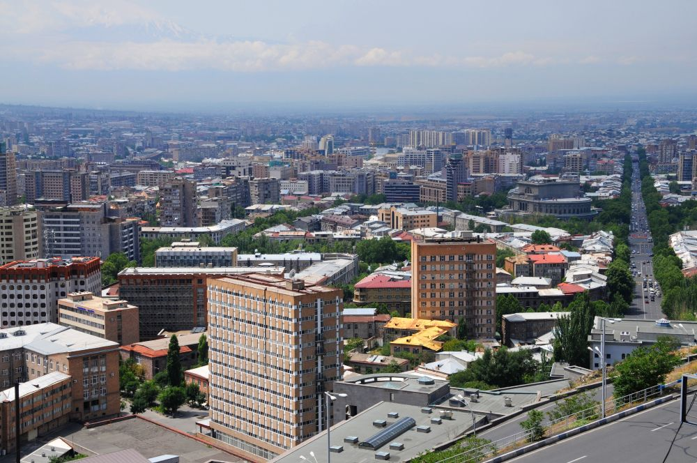 výhľad na Jerevan