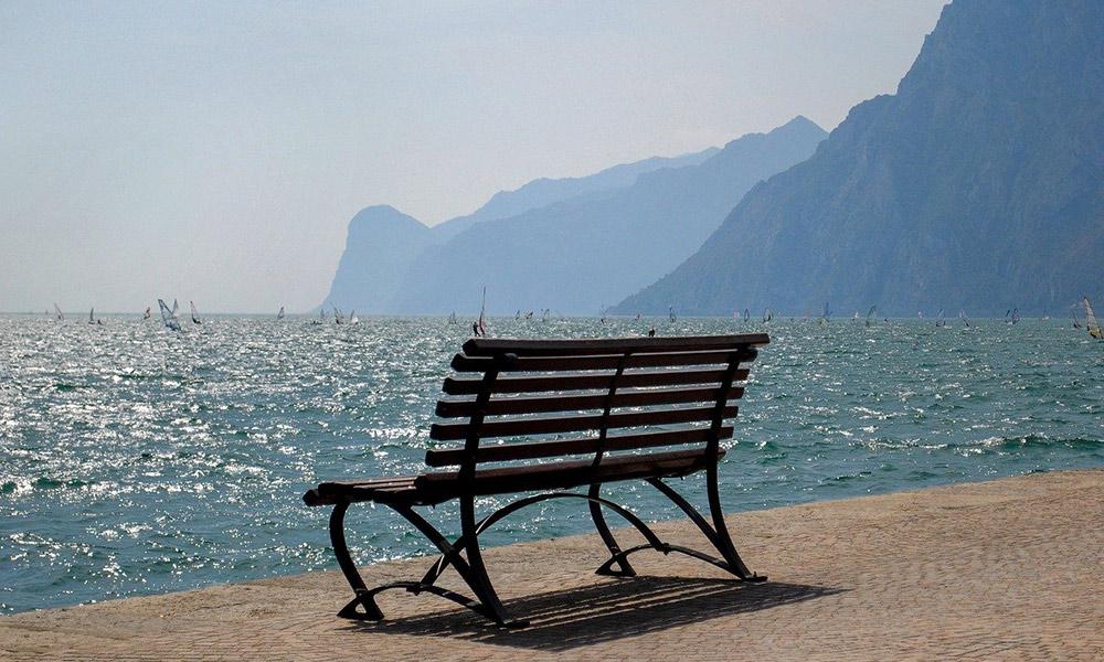 Lago di Garda je ideálne na vodné športy