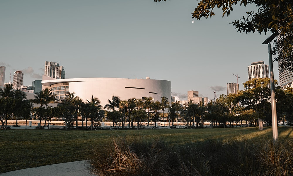 The American Airlines Arena, Miami, Florida