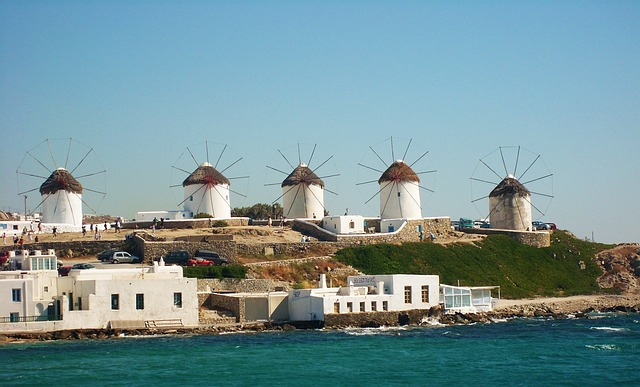 Veterné mlyny Kato Myloi