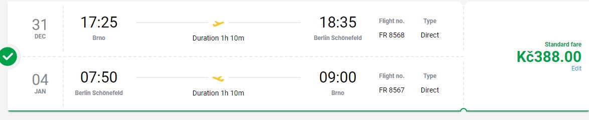 letenky do Berlína