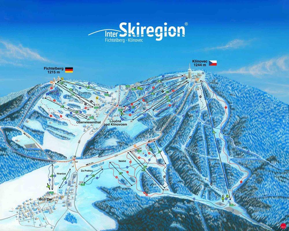 lyžiarske stredisko Klínovec