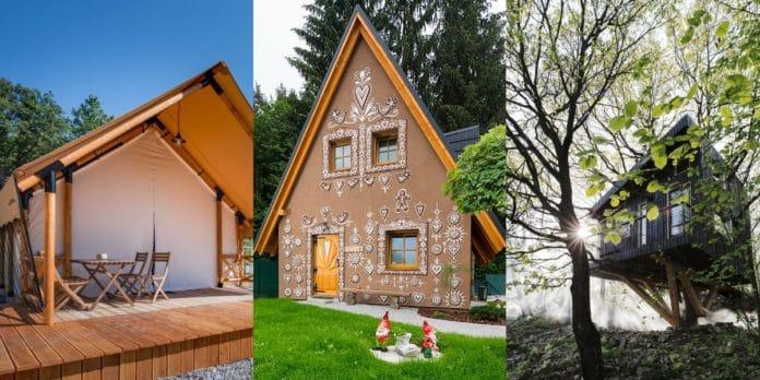 netradičné ubytovania na Slovensku