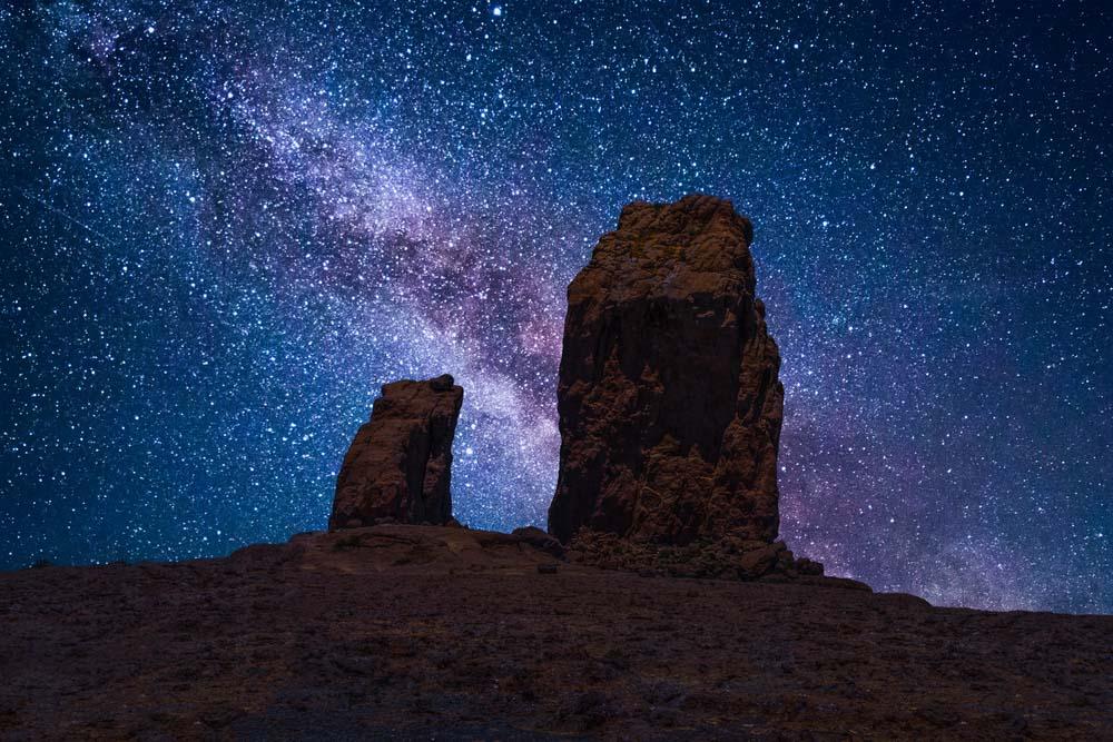 Roque Nublo na Gran Canarii