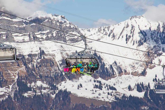 Švajčiarsko počas zimy