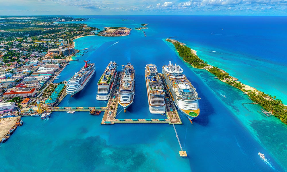 Bahamy, Nassau, prístav
