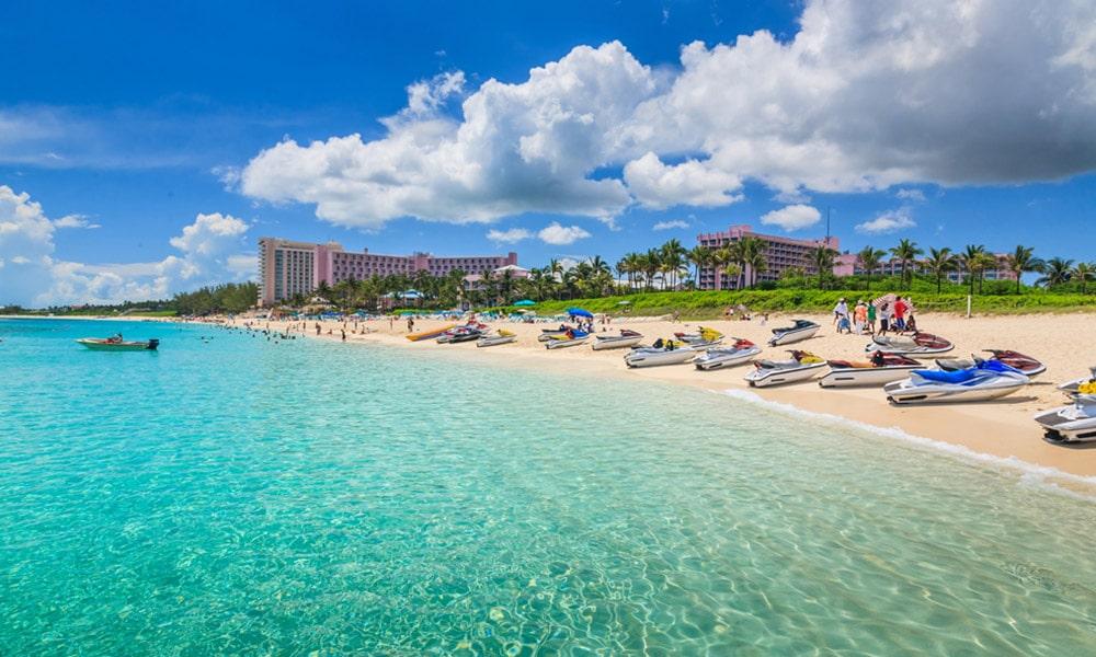 Cabbage beach na Bahamách