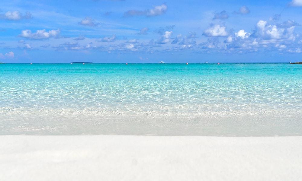 Bahamy, pláž