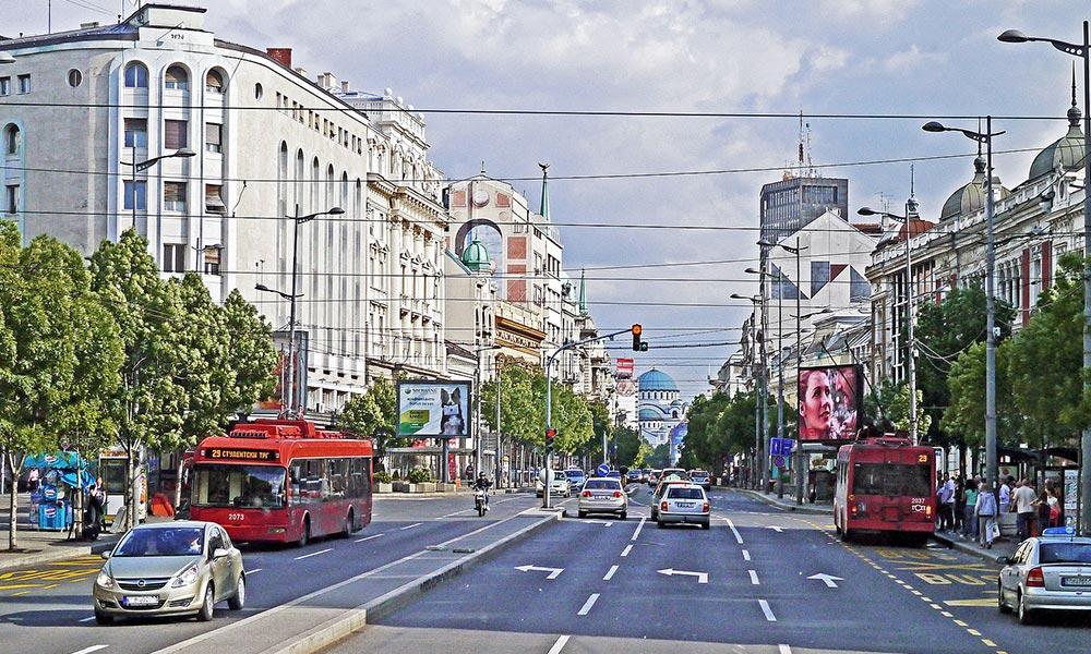 Terazije v Belehrade