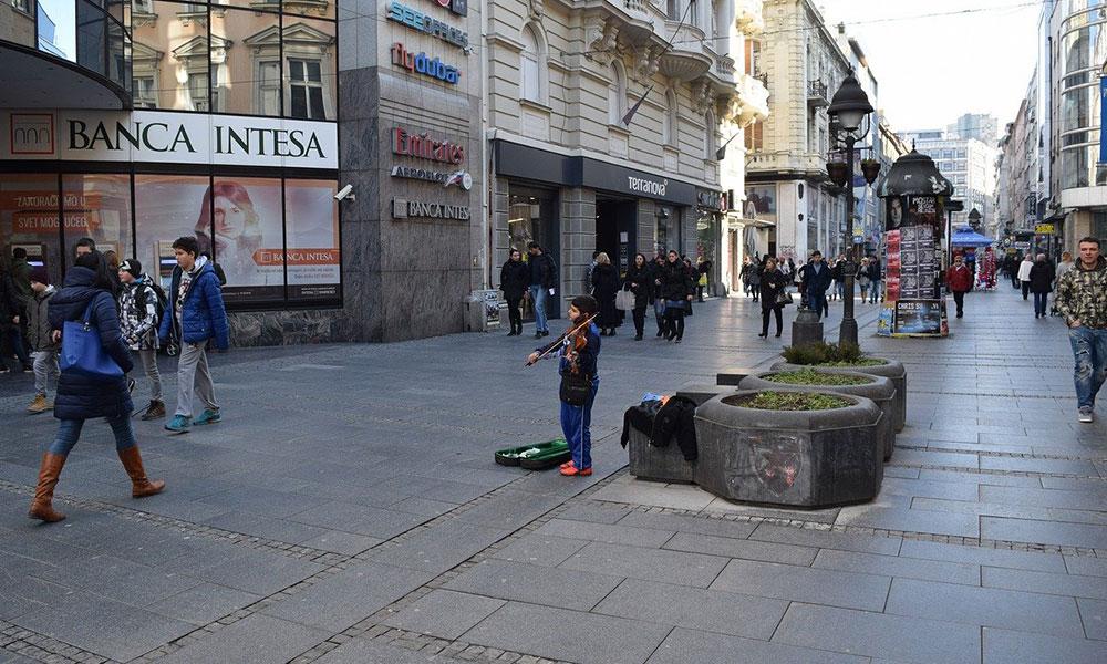 Knez Mihailova v Belehrade