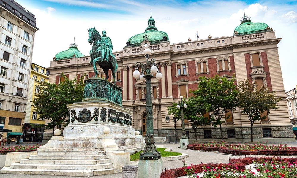 Námestie republiky v Belehrade