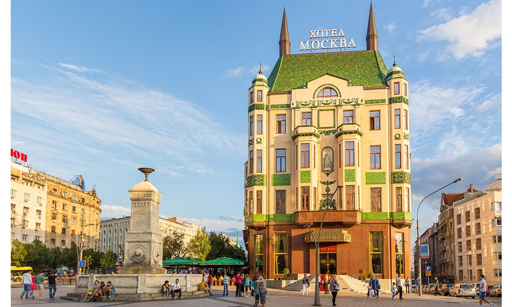 Hotel Moskva v Belehrade