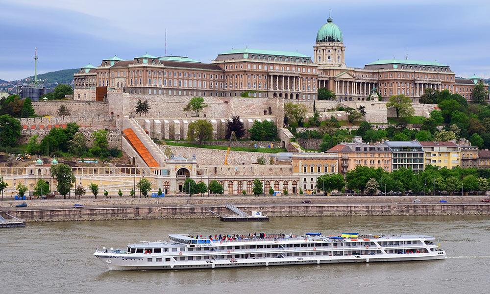 Budínsky hrad v Budapešti