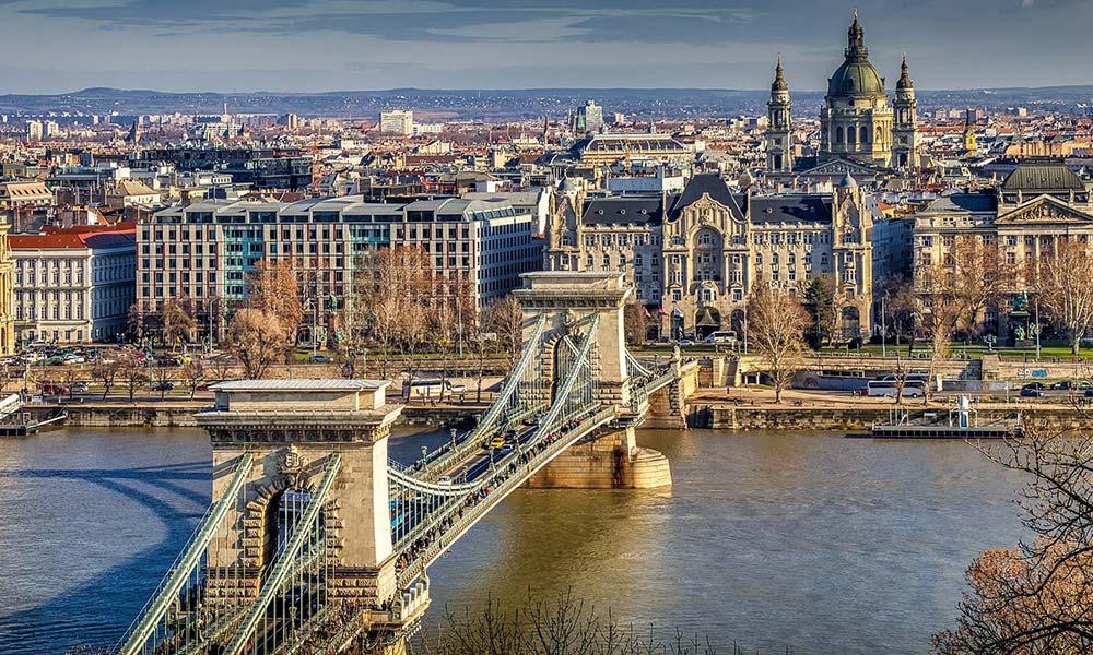Széchenyiho most v Budapešti