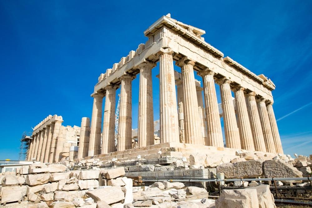 Parthenon Ateny