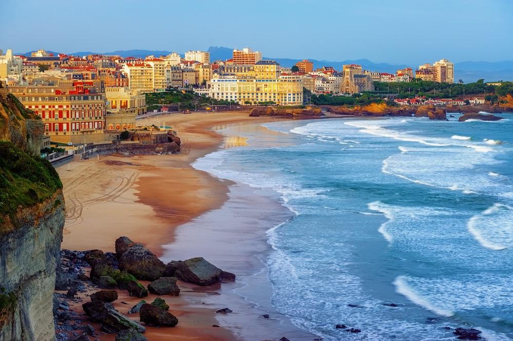 Biarritz plaz