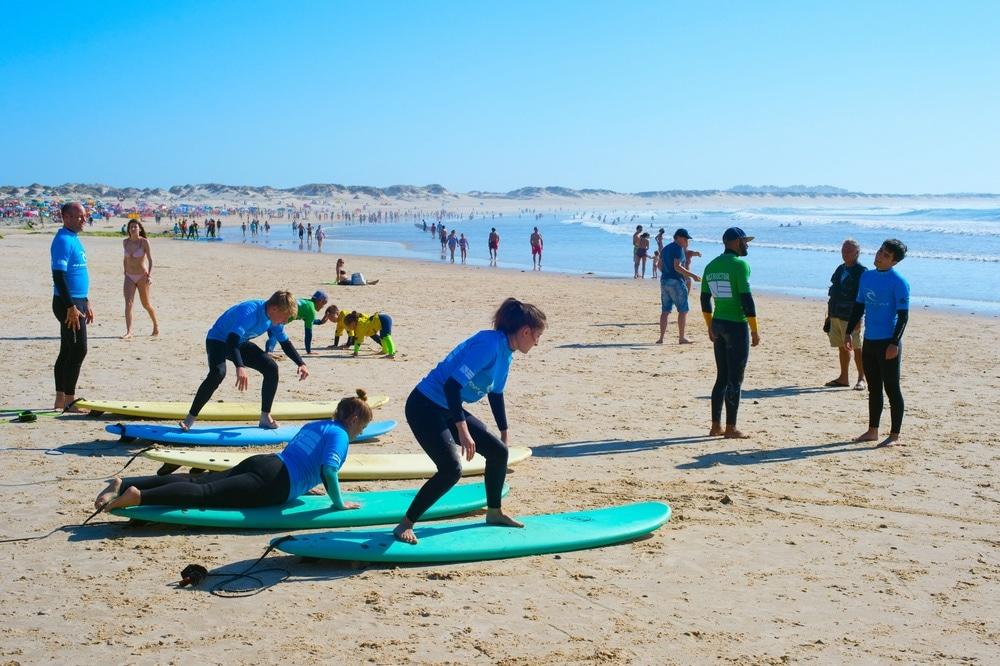 surfovanie peniche portugalsko