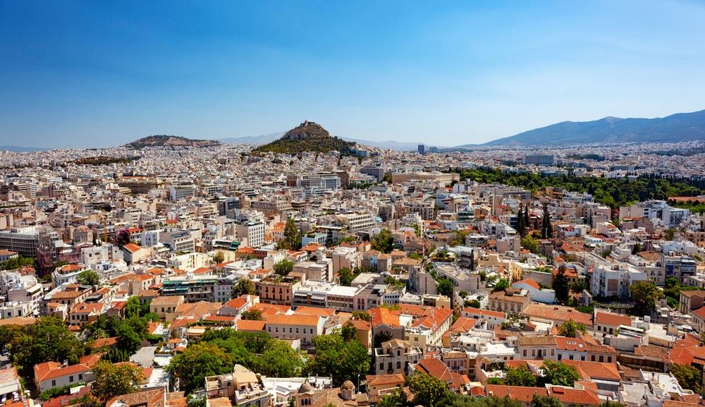 Lycabettus Hill Atény