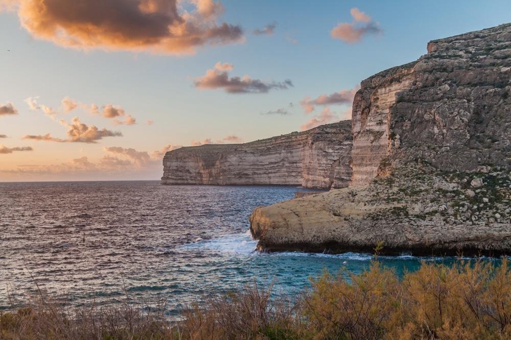 útesy Gozo