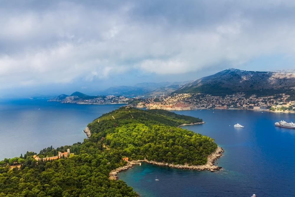 ostrov lokrum chorvátsko