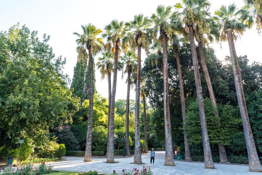 National Gardens Atény