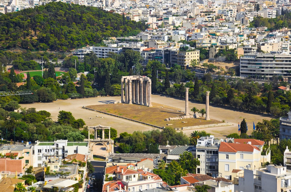 Chrám Dia Olympského Atény