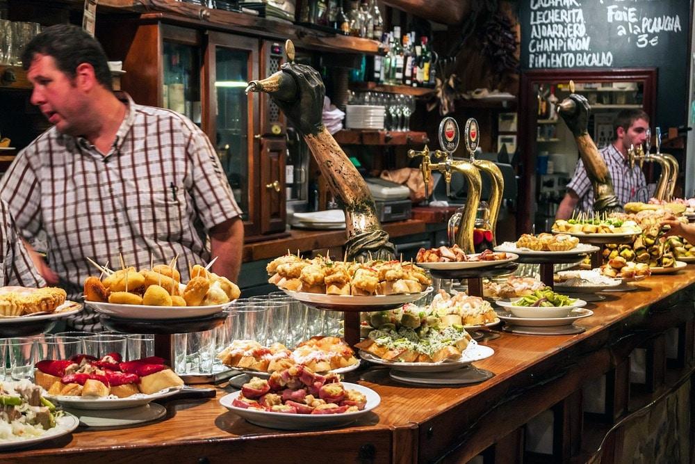 jedlo San Sebastian