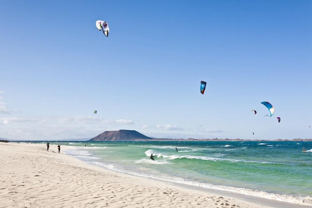 Kite surfing Fuerteventura