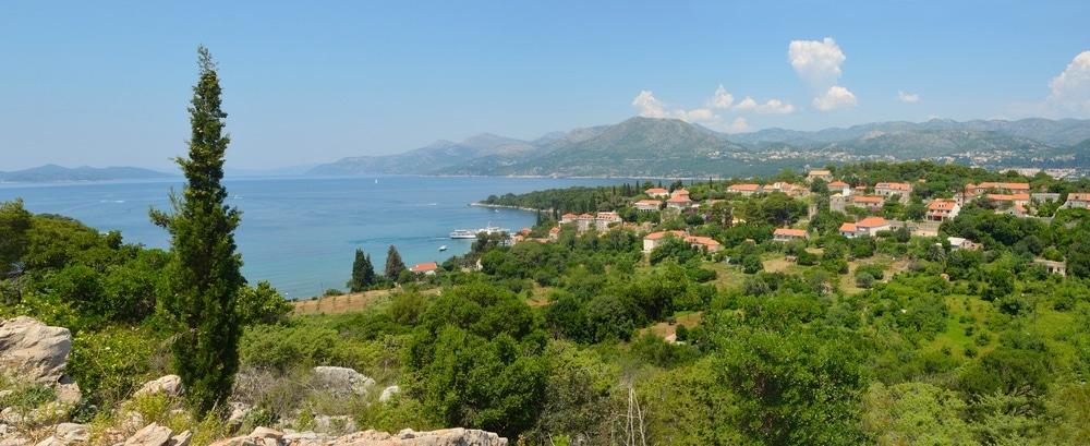 ostrov kolocep chorvátsko