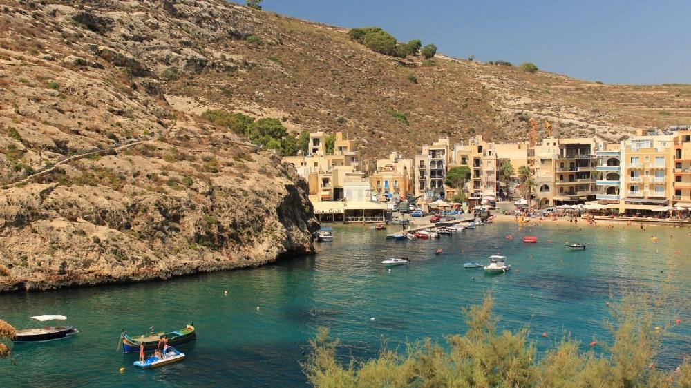 xlendi bay Malta