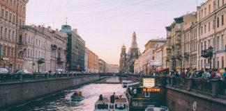 Petrohrad, rieka a Chrám preliatej krvi
