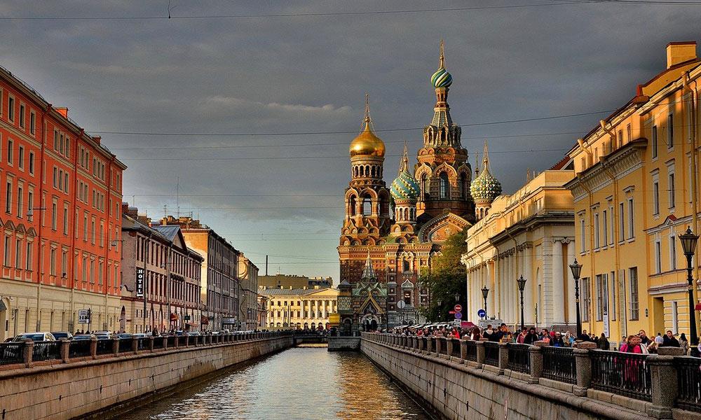 Petrohrad, Chrám Kristovho vzkriesenia
