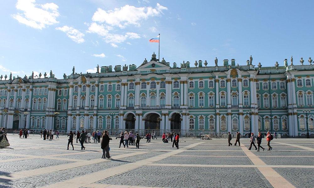 Zimný palác v Petrohrade