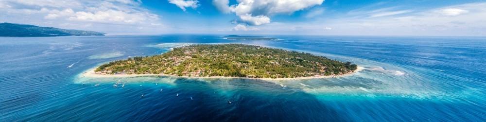 Gili ostrovy, Indonézia
