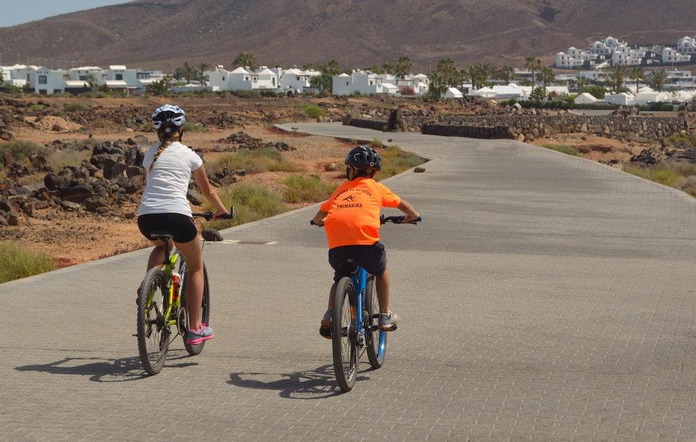 cyklistika na Lanzarote
