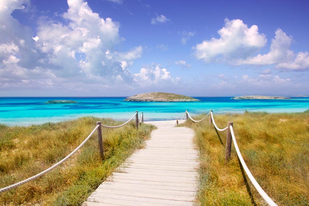Pláž Formentera