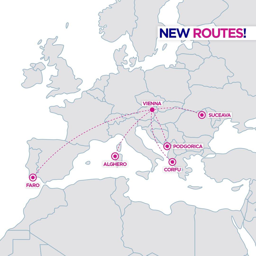 nové linky z Viedne