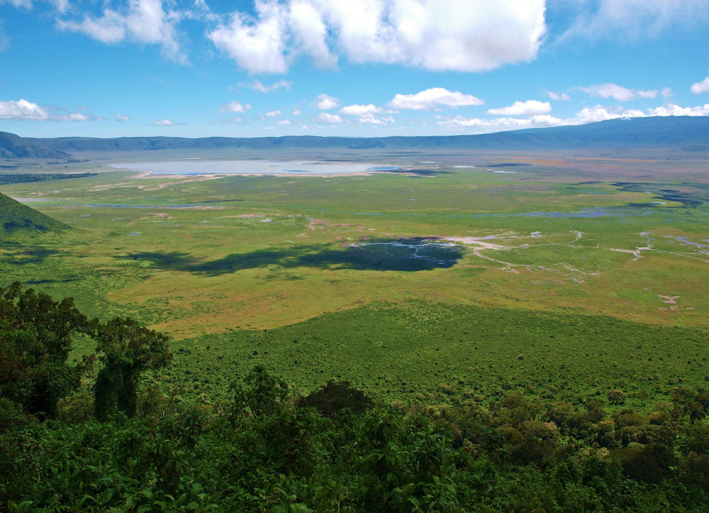 Kráter Ngongoro
