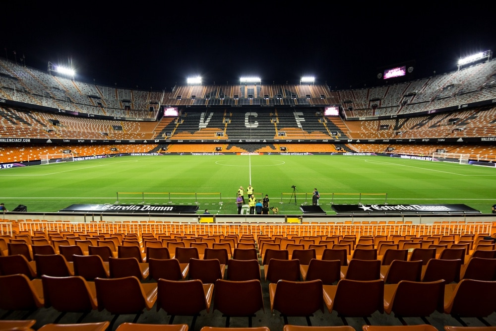 Estadio Mestalla valencia
