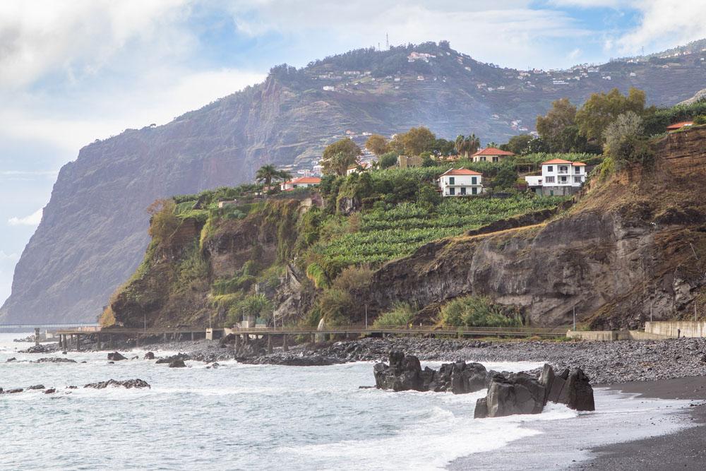 pláž Madeira