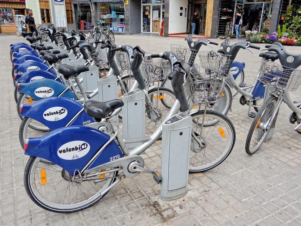 bicykle valencia