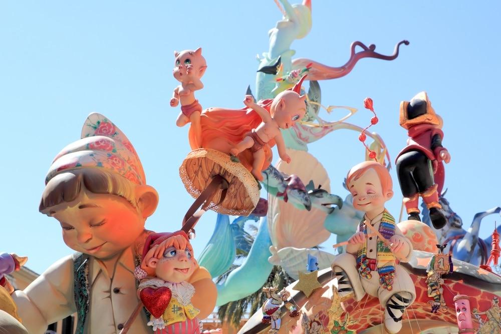 festival Las Fallas valencia