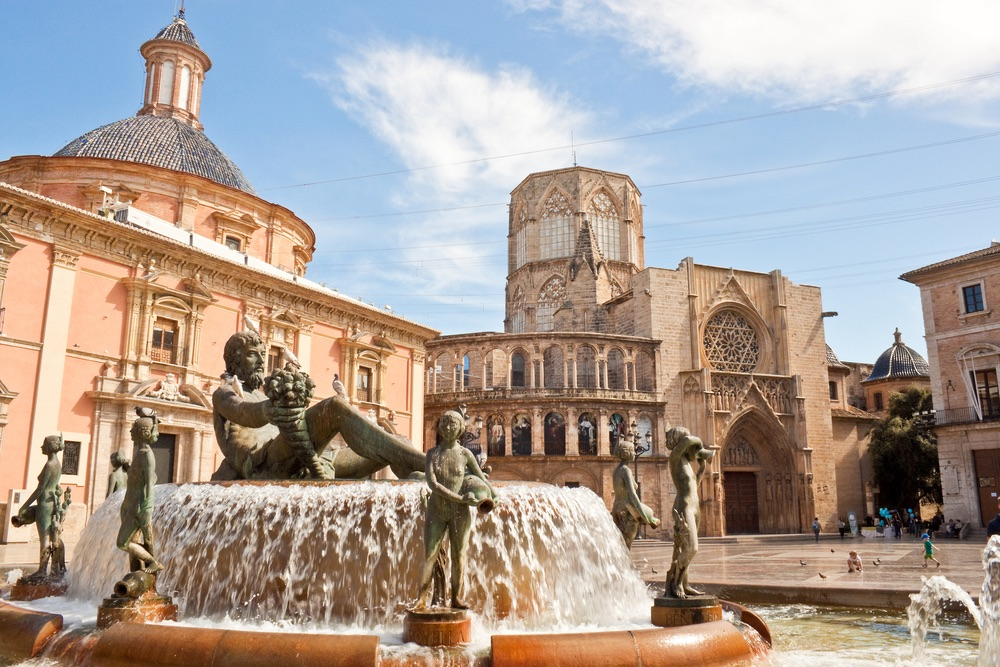valencia katedrála