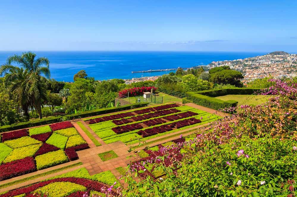 záhrady na Madeire