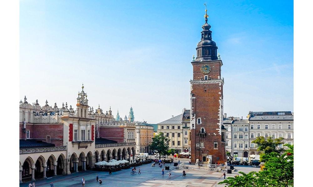 Rynek Glówny v Krakove