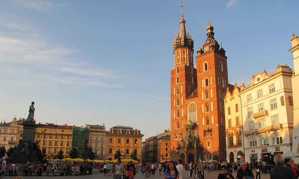 Mariánsky kostol v Krakove