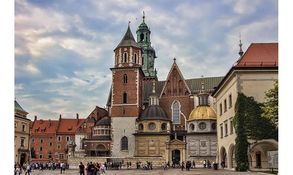 Katedrála Wawel v Krakove