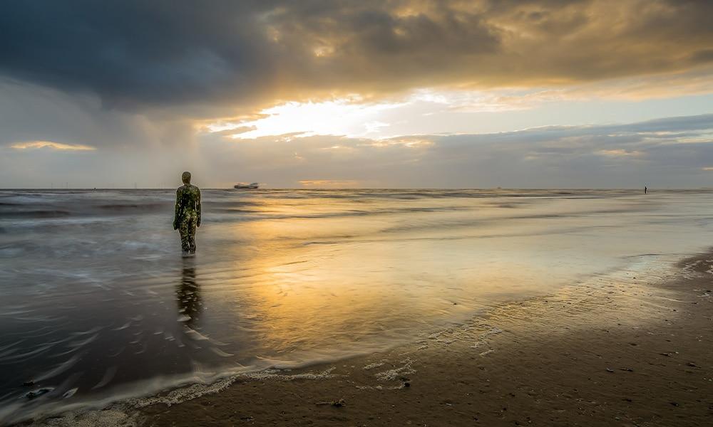 Liverpool Crosby Beach