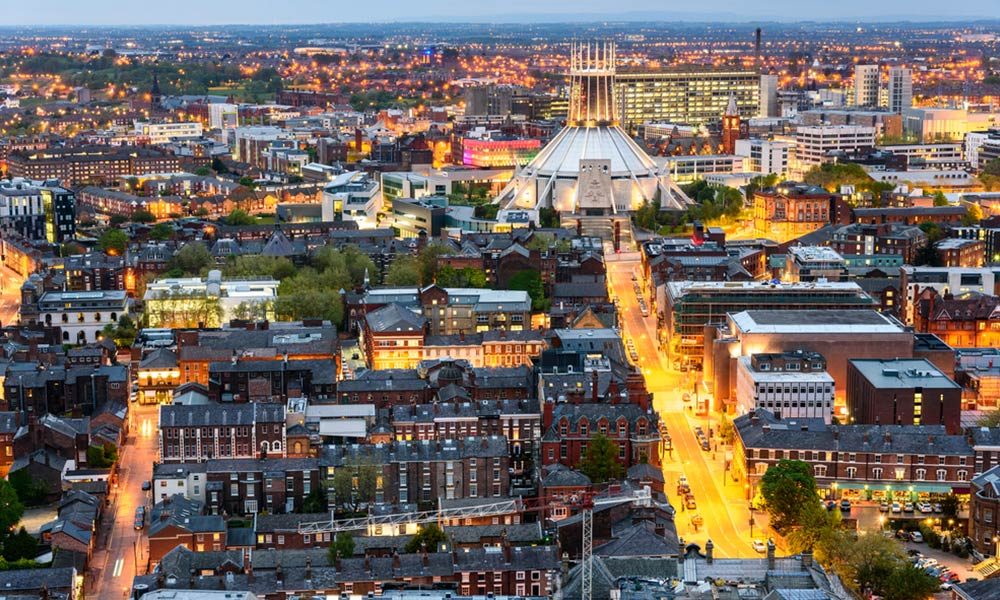Metropolitna katedrala v Liverpoole