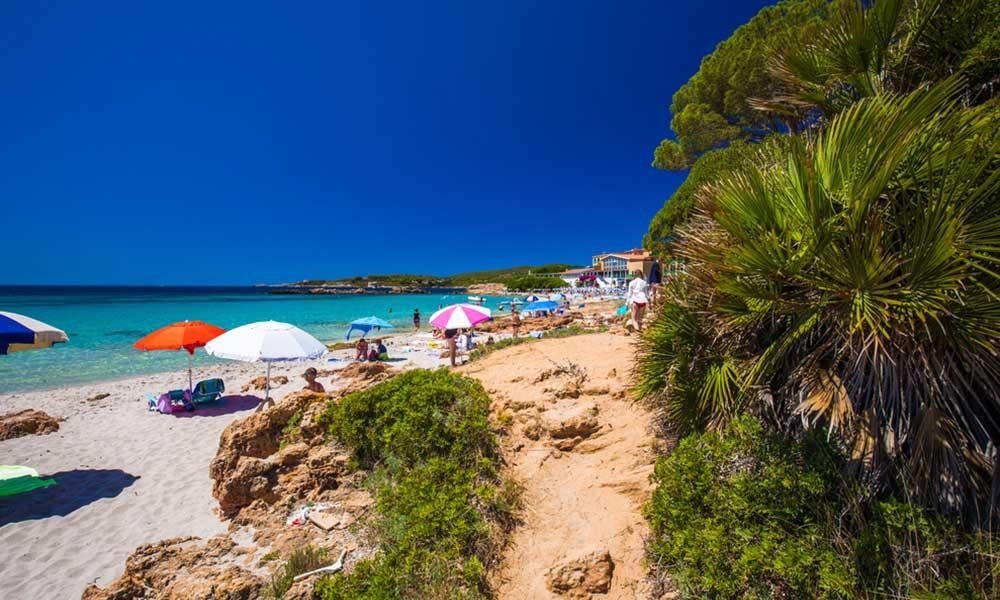 Spiaggia delle Bombarde, Sardínia